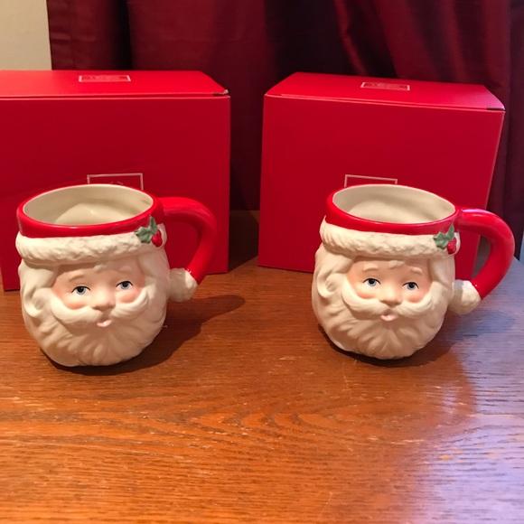 Lenox Santa Mug Set
